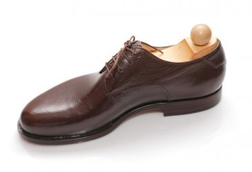 Exkluzívna obuv Derby hnedá
